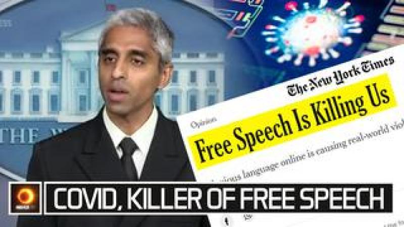Covid, Killer Of Free Speech