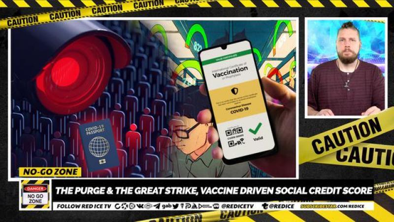 No-Go Zone: The Purge amp; The Great Strike, Vaccine Driven Social Credit Score
